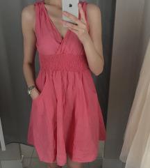 H&M rózsaszín ruha