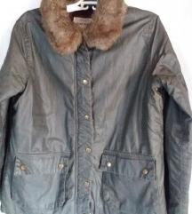 River Island khaki színű átmeneti kabát L-es