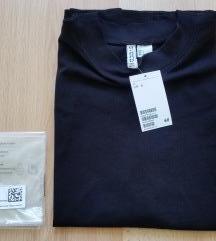 Új H&M fekete felső póló top rövidujjú