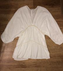 Zara embroidered mini ruha strandruha