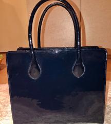 Lakk hatású nagy méretű táska új