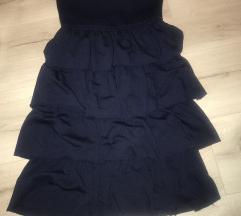 Tally sötétkék nyári ruha