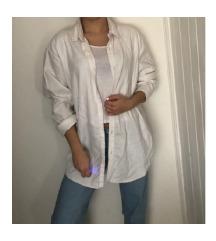 ZARA oversized fehér ing