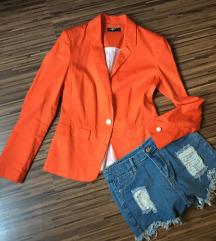 Narancs blézer