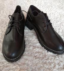 Fekete oxford cipő