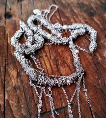 Pullandbear ezüst nyaklánc