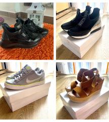 Magasított talpu bőr sneaker, burgundi bőrkabat