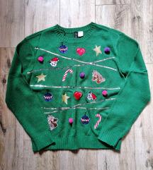 H&M ronda karácsonyi pulcsi