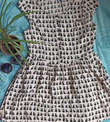 Divided cicás ruha