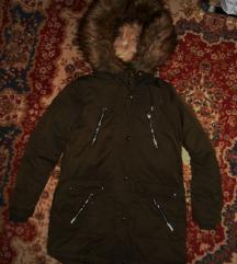 F&F szőrmés béléses téli parka kabát