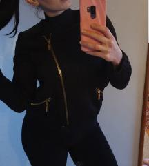 Fekete Mango arany dzseki S