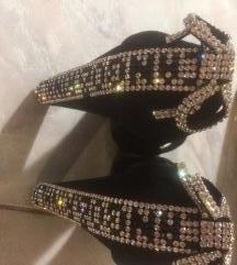 Swarovski kristályos Cango&Rinaldi  cipő