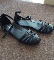 Graceland fekete lapos szandál