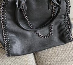 Fekete láncos táska